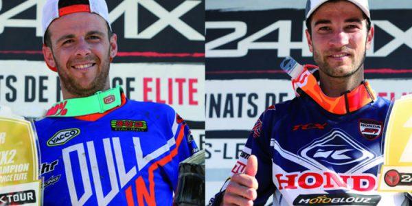 Xavier Boog et Florent Richier Champions de France