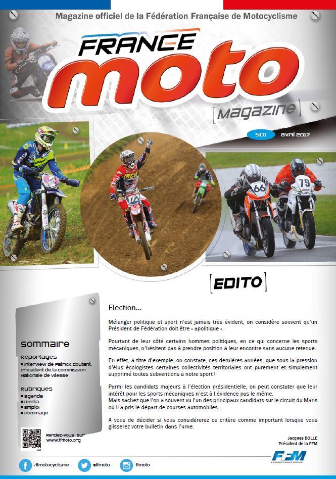 France Moto Magazine 501 Avril 2017