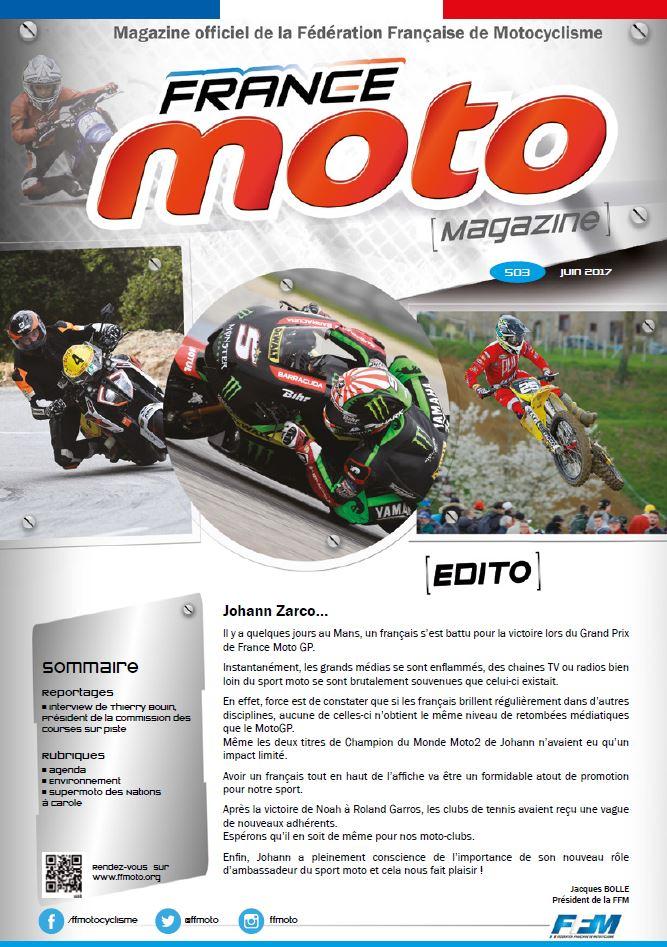 France Moto Magazine 503 juin 2017