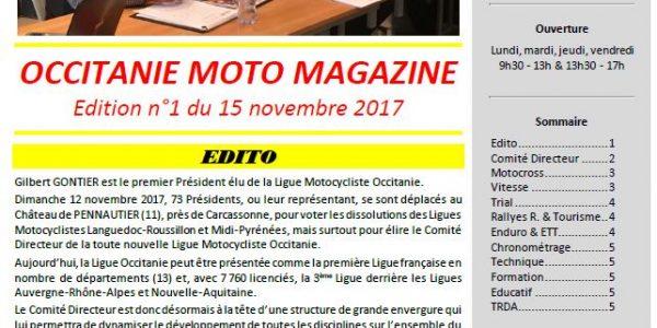 Occitanie Moto Magazine n°1